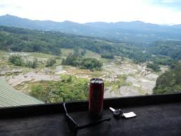 Rijstbar in de buurt van Rantepao